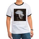 White Mushrooms Ringer T