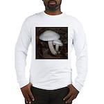 White Mushrooms Long Sleeve T-Shirt