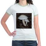 White Mushrooms Jr. Ringer T-Shirt