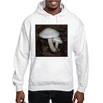 White Mushrooms Hooded Sweatshirt