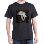 White Mushrooms Dark T-Shirt