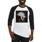 White Mushrooms Baseball Jersey