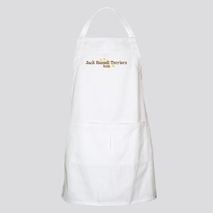 Jack Russell Terriers Rule BBQ Apron