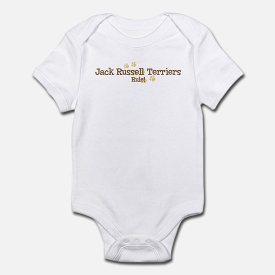 Jack Russell Terriers Rule Infant Bodysuit