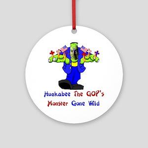 Huckabee GOP Monster Ornament (Round)
