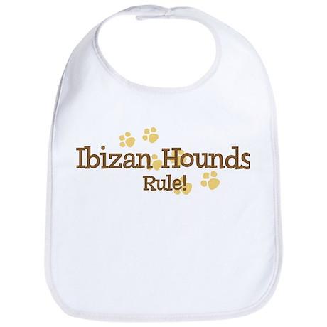 Ibizan Hounds Rule Bib