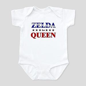 ZELDA for queen Infant Bodysuit