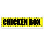 Chicken Box Bumper Sticker