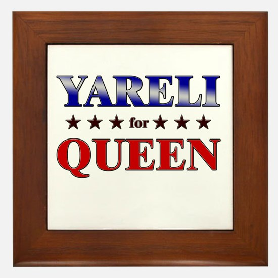 YARELI for queen Framed Tile