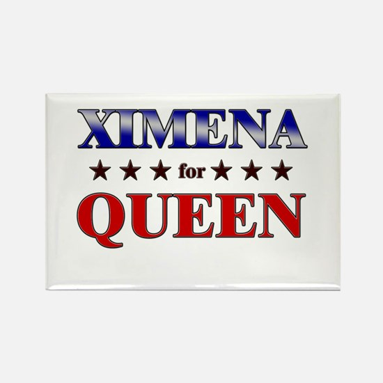 XIMENA for queen Rectangle Magnet