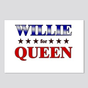 WILLIE for queen Postcards (Package of 8)