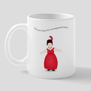 Brunette Hug Your Accompanist Mug