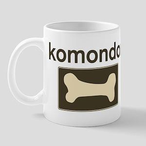 Komondor Dog Bone Mug