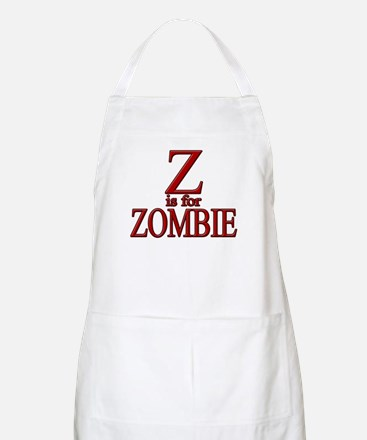 Z is for Zombie BBQ Apron