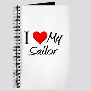 I Heart My Sailor Journal