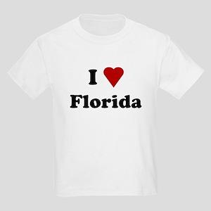 I Love Florida Kids Light T-Shirt