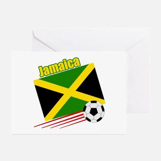 Jamaica Soccer Team Greeting Cards (Pk of 10)