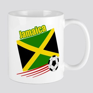 Jamaica Soccer Team Mug