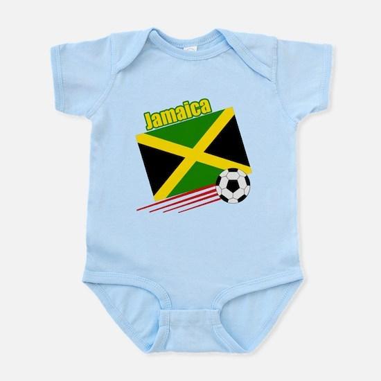 Jamaica Soccer Team Infant Bodysuit