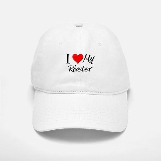 I Heart My Riveter Baseball Baseball Cap