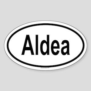 ALDEA Oval Sticker