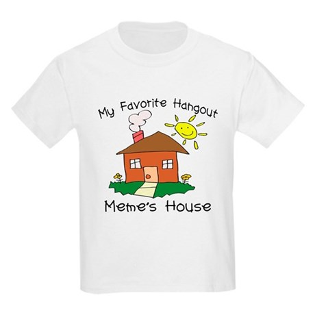 Favorite Hangout Meme's House Kids Light T-Shirt