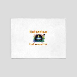 Unitarian Universalist 20 Merchandi 5'x7'Area Rug