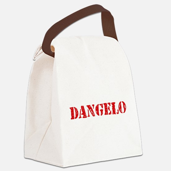 Dangelo Rustic Stencil Design Canvas Lunch Bag