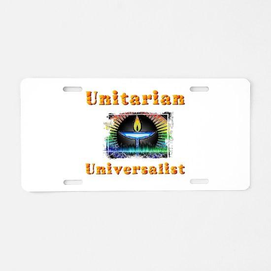 Unitarian Universalist 20 M Aluminum License Plate