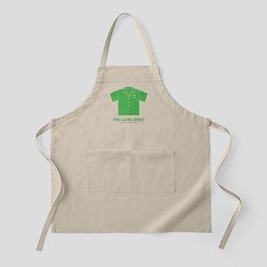 Lucky Green Shirt BBQ Apron