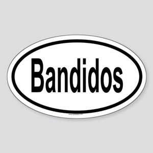 BANDIDOS Oval Sticker