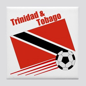 Trinidad Soccer Team Tile Coaster