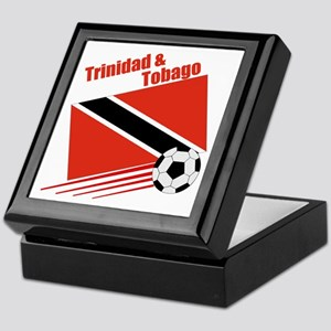 Trinidad Soccer Team Keepsake Box