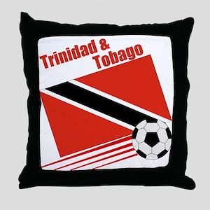 Trinidad Soccer Team Throw Pillow