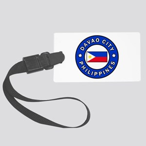 Davao City Philippines Large Luggage Tag