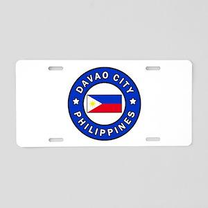 Davao City Philippines Aluminum License Plate