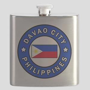 Davao City Philippines Flask