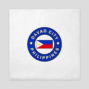 Davao City Philippines Queen Duvet
