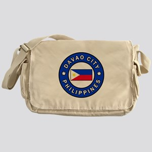 Davao City Philippines Messenger Bag