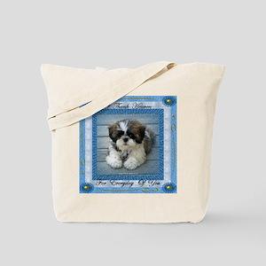 I Thank Heaven Tote Bag