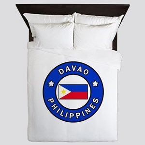 Davao Philippines Queen Duvet