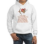 Cupid's Bow Hooded Sweatshirt