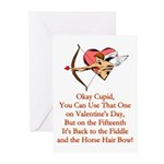 Cupid's Bow Greeting Cards (Pk of 10)