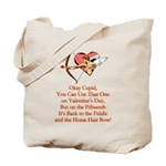 Cupid's Bow Tote Bag