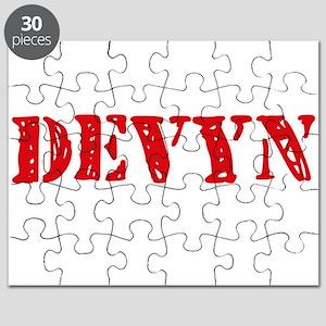 Devyn Rustic Stencil Design Puzzle
