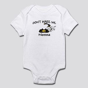 Call Nonna with Black Phone Infant Bodysuit