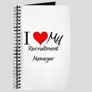 I Heart My Recruitment Manager Journal