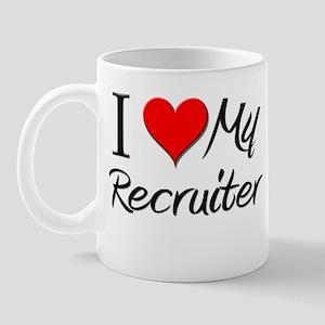 I Heart My Recruiter Mug