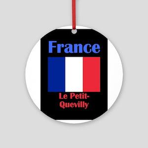 Le Petit-Quevilly France Round Ornament