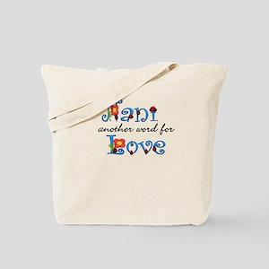 Nani Love Tote Bag